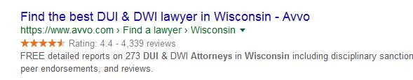 attorney advertising