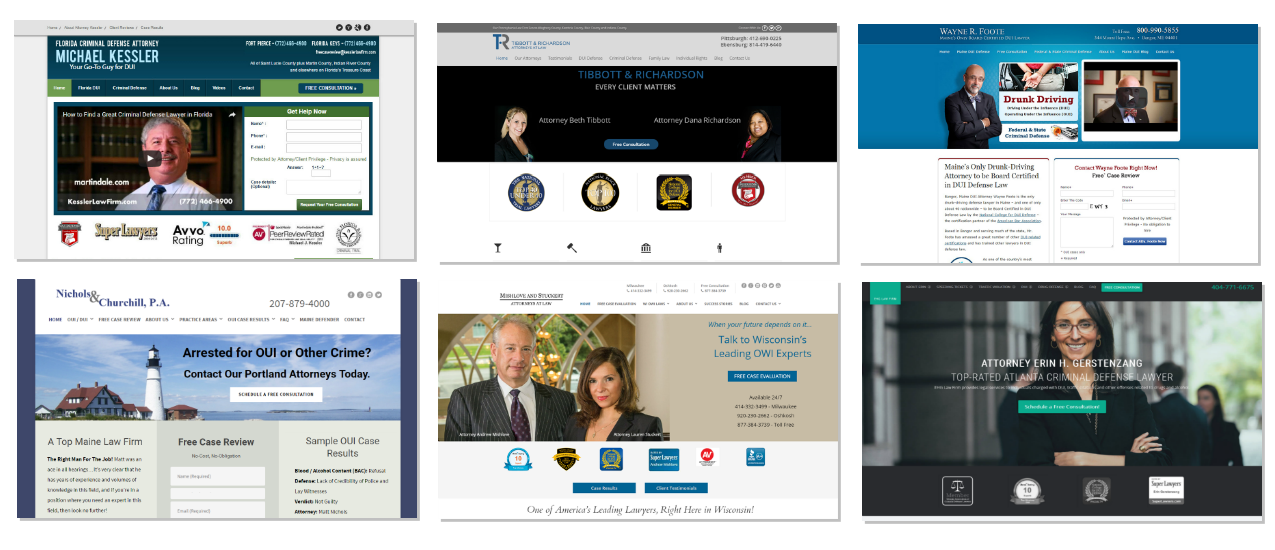 law firm website designs