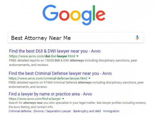 Avvo and Google: Not Quite an Axis of Evil, but…